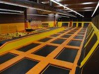 Superficie de trampolines