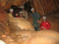 Espeleologia en las cuevas