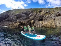 Giant SUP in Llanes