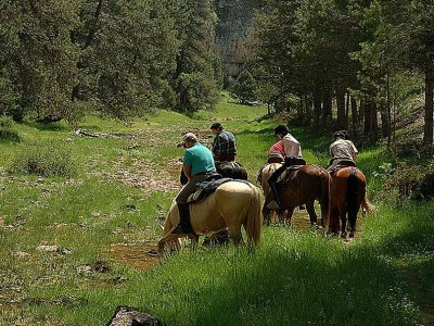 1 week horseback in Destierro del Cid