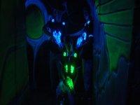 在迷宫中--999-制作激光镜头