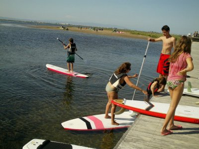 LA Central del Kite Paddle Surf