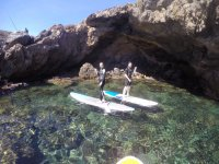 On sup in the cove
