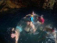 Snorkel dentro de la cueva