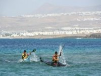 Reto en kayak