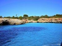 Aguas claras en Menorca