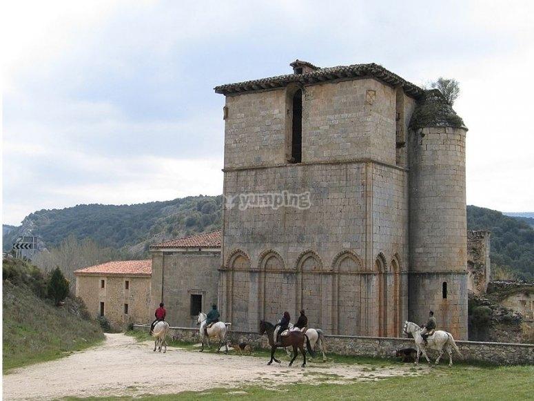 Una ruta histórica, a caballo