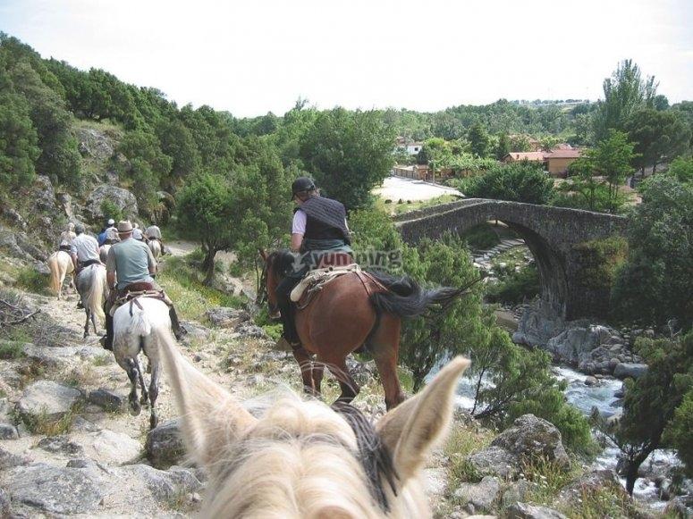 De excursión a caballo por Gredos