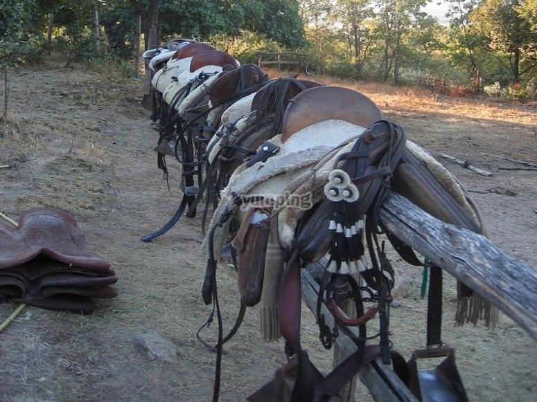 Silla vaquera, muy cómoda para las rutas
