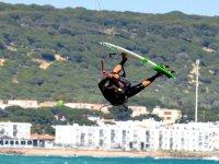 kite surf volando Tarifa