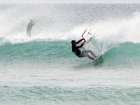 kitesurf profesional en Tarifa