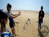 Kite surf en tarifa con instructor