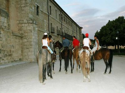 Ruta a caballo de 1 semana en Ribera del Duero