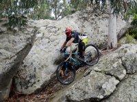Bicicleta de montana en Andalucia