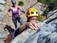 Iniciación escalada con cuerda