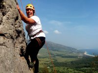 Disfrutando de la escalada en Tarifa
