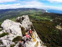 Vistas mejor zona para montanismo en Cadiz
