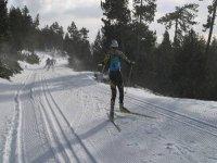 Cross-country skiing in La Partacua