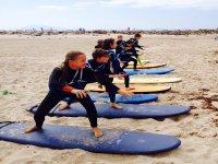 ninos kite surf