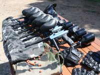 Equipos paintball