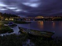 Puente Pedrido de noche
