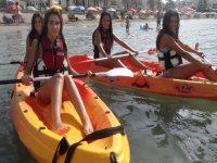 kayak con amigas