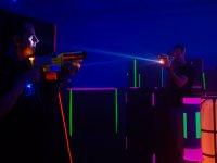 Partida de Laser Tag