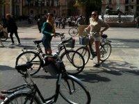 visitare la città in bici