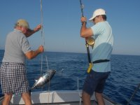 Pescando en mar abierto
