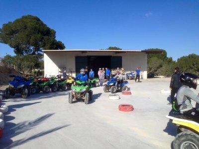 Pilotar quad en circuito cerca de Torrevieja