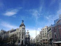 Gran Via en Madrid