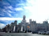 Plaza de Cibeles en Madrid