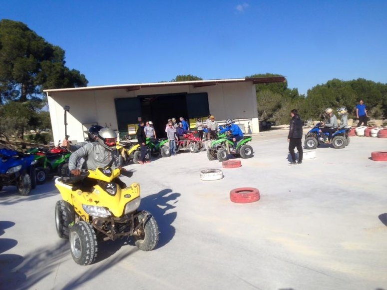 Quads in the Alicante's circuit
