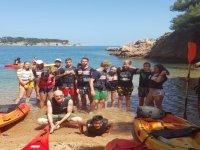 布拉瓦标志集团Naturaescapes在校儿童皮艇