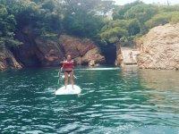 Paddle surf en calas increibles