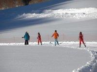 Aprendemos jugando con la nieve