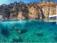 儿童卡拉代圣费里乌德古绍尔斯布拉瓦海岸皮划艇潜水