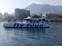 Fly Blue cruises