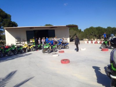Team Building con quad e paintball di Torrevieja