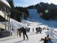 滑雪站是完整的