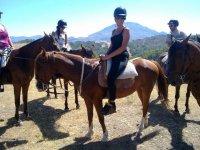 Dia diferente a caballo