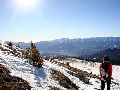 Lles de Cerdanya Raquetas de Nieve