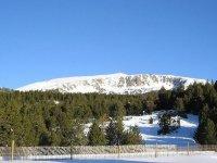 Lleida banada de nieve
