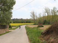 En bici por el camino