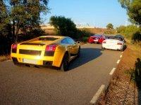 Ruta por carretera superdeportivos