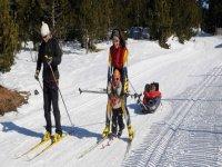 越野滑雪列斯德塞尔达尼亚滑雪