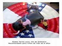 Toro rodeo, para niños a partir de 6 años