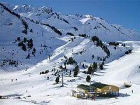 滑雪场的理想斜坡