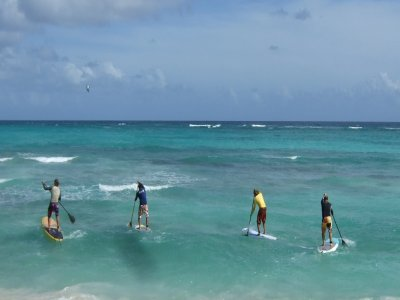 Mahalo Surf School Paddle Surf
