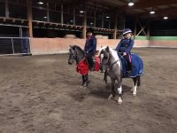Young Amazons on the equestrian track